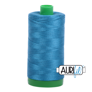 Aurifil 40 Cotton Thread - 1125 (Petrol Blue)